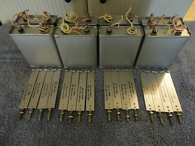 Unused Cornell-Dubilier 10Uf 600V Oil Capacitor, Lambda Power Supply With Straps