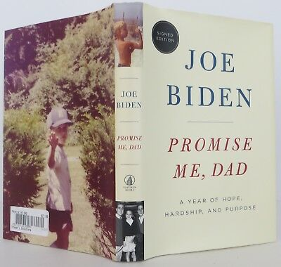 JOE BIDEN Promise Me, Dad SIGNED FIRST EDITION