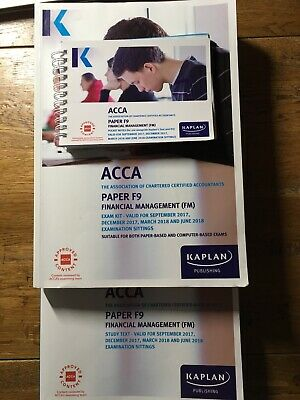 ACCA F9 KAPLAN text book Financial Management (FM) January