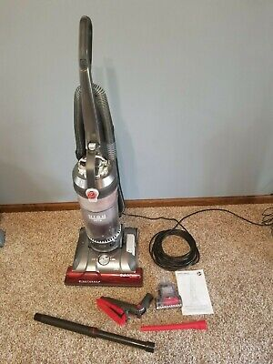 Hoover WindTunnel 3 High Performance Pet Bagless Corded Upright Vacuum Red