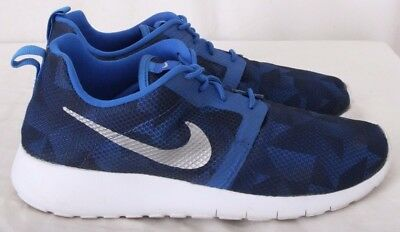 a974f447eb68e Nike 705485-403 Roshe One Flight Weight Athletic Sneakers Kid s 6.5Y  (Women s 8