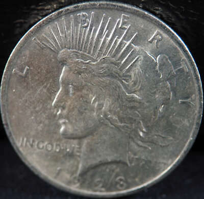 1923 P Peace Silver Dollar About Uncirculated (AU) - SKU 261US