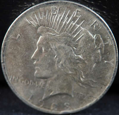 1923 P Peace Silver Dollar About Uncirculated (AU) - SKU 264US