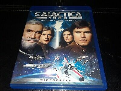 Battlestar Galactica 1980: The Complete Series (Blu-ray, 2015) TESTED FREE S&H
