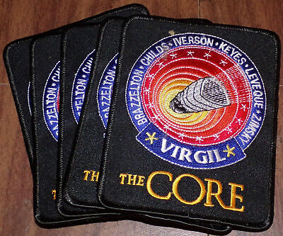 Lot of 5 The Core Virgil Embroidered Original Movie Promo Patches