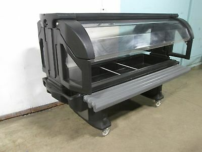 """""""Cambro Vbrl6"""" Hd Commercial (Nsf) Youth Height Portable 81""""L Poly Cold Food Bar"""