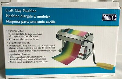 AMACO Craft Clay Machine Original Box arts crafts