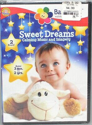 Baby First Sweet Dreams Calming Music And Imagery 2013 DVD New SW