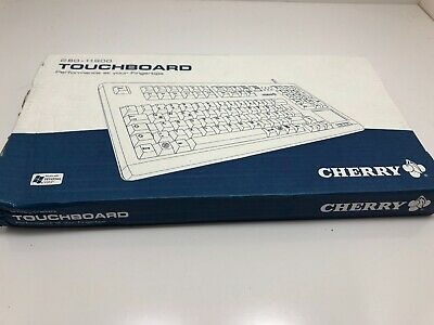 Cherry G80-11900 Black Keyboard With Touchpad Touchboard NEW