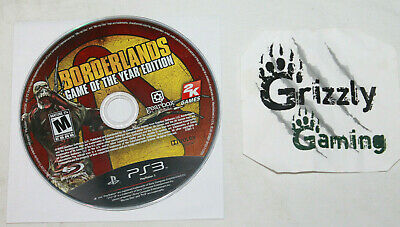 USED Borderlands Game of the Year Edition Sony Playstation 3 PS3 (Disc Only)
