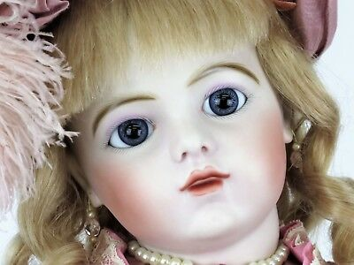 "27"" Bru 13 Dressed Antique Reproduction Doll by Connie Zink of Land of Oz Dolls"