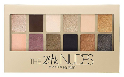 NEW Maybelline The 24k Nudes Eyeshadow Palette