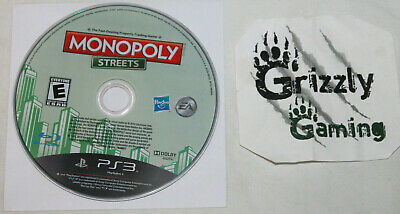 USED Monopoly Streets Sony Playstation 3 PS3 (Disc Only)