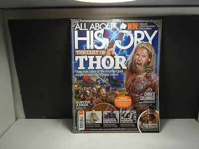 Back Issue All About History Magazine Thor Viking Valor  Issue 057