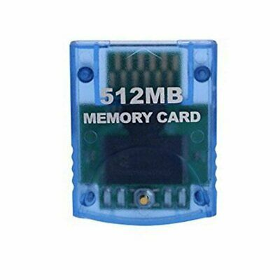 New 512MB Memory Card for the Nintendo Gamecube and Wii 512 MB
