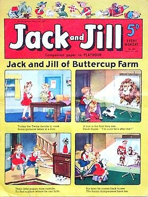 JACK & JILL - 21st MARCH 1959 (16 - 22 March) RARE 60th BIRTHDAY GIFT !!...dandy