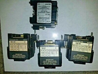 LOT OF 4 Allen Bradley 700-NT Series C Pneumatic Time-Delay  Timing Unit   USED