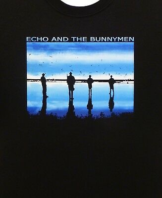 limited edition classic black tribute t-shirt Echo and the Bunnymen Zimbo