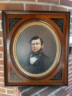 ☆ American ~ Renaissance East Lake  ~ 1860-99 ~ Deep Well WALNUT PICTURE FRAME ☆