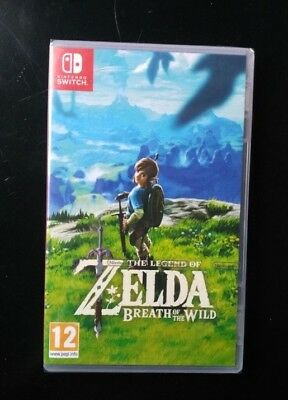 The legend of zelda breath of the wild SWITCH - Neuf sous BLISTER - Envoi 48h FR