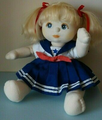 Mattel My Child Doll - Blonde - Blue Eyes - Dressed - Cute