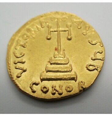 711-713 AD Byzantine Empire PHILIPPICUS (BARDANES) Gold Coin AV SOLIDUS Ancient