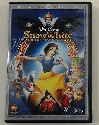 Snow White and the Seven Dwarfs - Disney (2 Blu-ray Set, 2009) OOP / No DVD