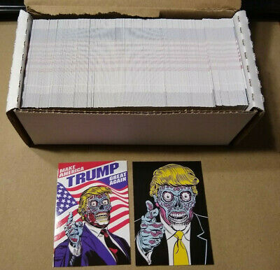 🔥 Lot of 400+ Donald Trump Make America Great Again They Live Alien ACEO Cards