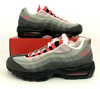 NIKE AIR MAX 95 OG Solar Red Granite Running Shoes AT2865 100 Men's Size 10.5