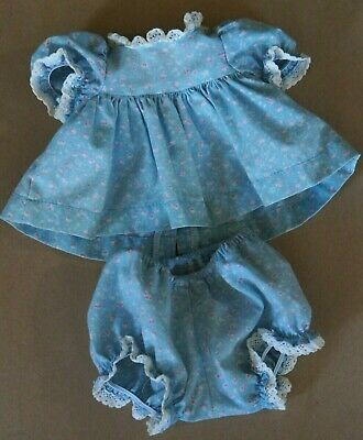 My Child Doll Original Blue Pinny Dress - Panties - New Elastic