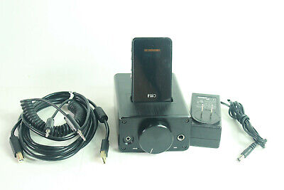 Fiio E7 and E9 USB DAC Portable Headphone AMP and Desktop Amplifier with Cables