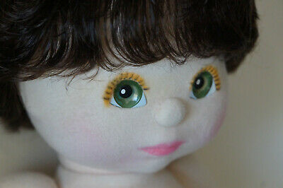 Mattel My Child Doll - Brunette - Green Eyes - Lovely - Dressed