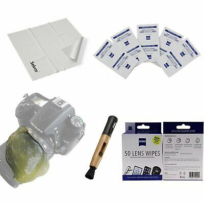 4in1 Professional Lens Cleaning Kit ( Zeiss Cleaning Cloth Wipes etc) for Canon