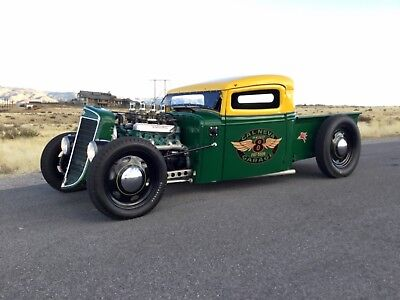 1936 International Harvester Hot Rod Pickup  1936 International Harvester Traditional Style Hot Rod Pickup Truck Rat Rod SCTA