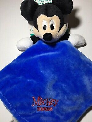 Kids Preferred Disney Baby Mickey Mouse Baby Security Blanket Lovey NWT