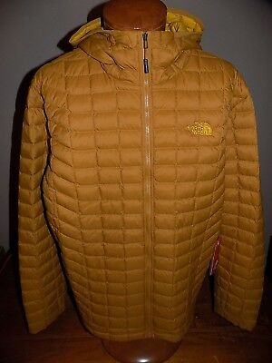 ef35cd1a9 NWT Mens The North Face Thermoball Hoodie Jacket GOLDEN BROWN MATTE 2XL $220