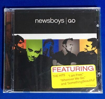 Go by Newsboys (CD, Oct-2006, Inpop Records) Christian Pop Rock - NEW Sealed