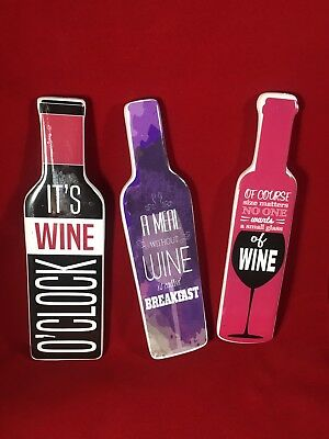 Wine Bottle Magnet Set Wine Lovers Party Favor Free Shipping Holiday Gift Ideas