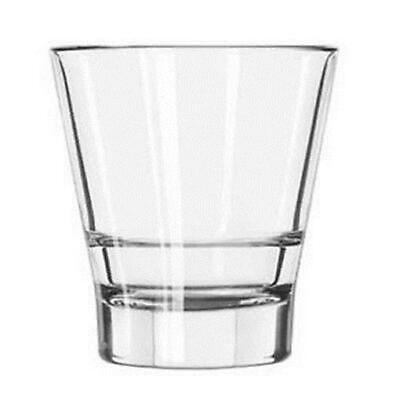 (12 Glasses) Libbey Endeavor DuraTuff Double Old Fashioned Glass, 12 Ounce