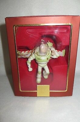 """merry Christmas And Happy Lightyear"" Lenox Toy Story Porcelain Ornament - Mib"