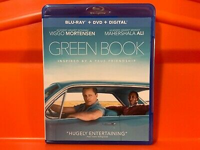 Green Book Blu Ray Dvd Combo 2018 No Digital Code Presale