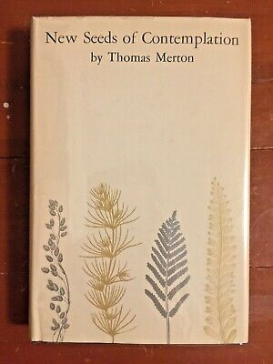 New Seeds Of Contemplation Thomas Merton 1961 1st Printing & Edition Hardcover