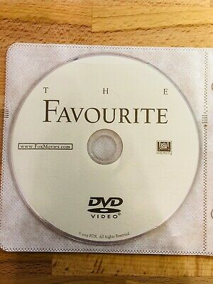 The Favourite - DVD Disc Only (2018) Emma Stone *** FREE SHIPPING ***