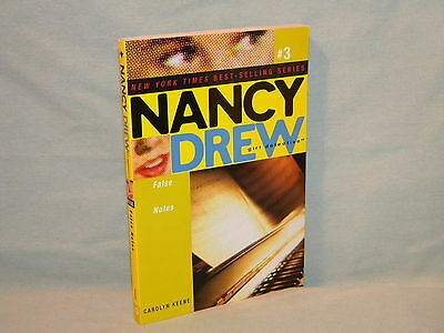 Nancy Drew Girl Detective #3 False Notes pb Mystery Carolyn Keene