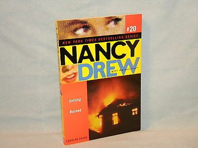 Nancy Drew Girl Detective #20 Getting Burned 1st pb Mystery Carolyn Keene