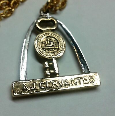 St. Louis Mayor A J Cervantes Necklace  1965 to 1973 Key Arch politics
