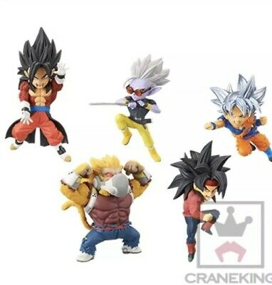 Super Dragon Ball Heroes World Collectable Figure WCF vol.5 Complete
