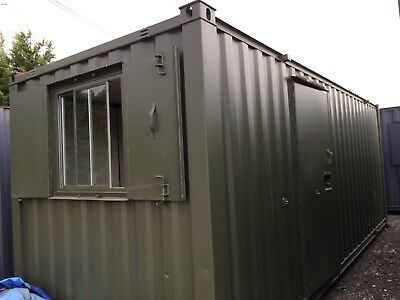 21 x 8ft Anti Vandal Site Office / Site Cabin / Portable Building / 3000 +VAT