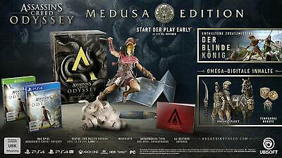 PS4 Spiel Assassin's Creed Odyssey - Medusa Collectors Edition mit Figur etc NEU