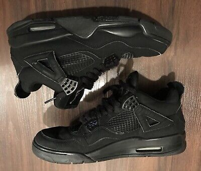 quality design 57abd 0a8ec RARE Nike Air Jordan IV 4 BLACK CAT Size 9.5 2006 Retro 308497-002